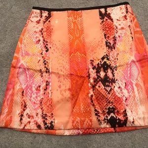 Worthington Snake Skin Skirt Size 6